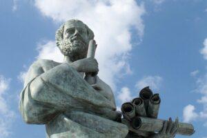 Statue philosophique